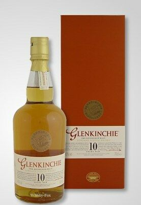 Glenkinchie 10 Year Old Single Malt Scotch Whisky (700ml) Discontinued 2007