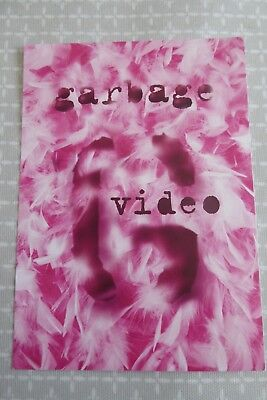 Garbage Video, Queer, Stupid Girl, Milk, Vow, Only Happy... promotional postcard