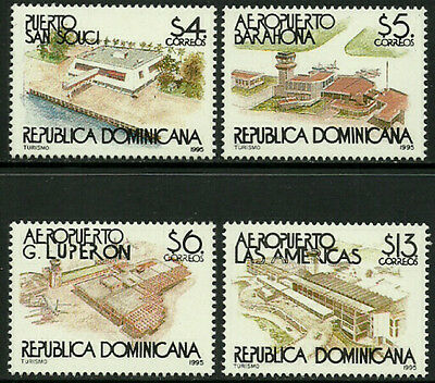 Dominican Rep #1191-4 Mint Never Hinged Set - Tourism
