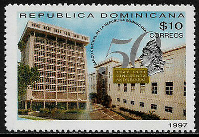 Dominican Rep #1264 Mint Never Hinged Stamp - Central Bank