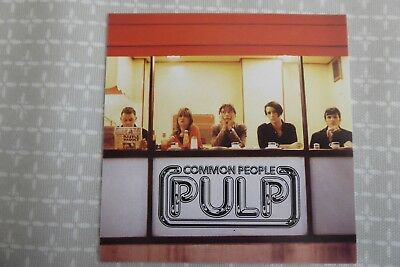 Pulp, Common People,  promotional postcard, 1995