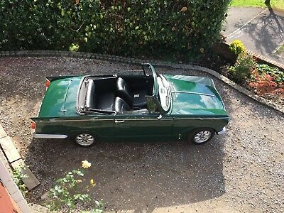 Triumph Herald Convertible 13/60  Lovely Car From Hcc......with Overdrive !!!!