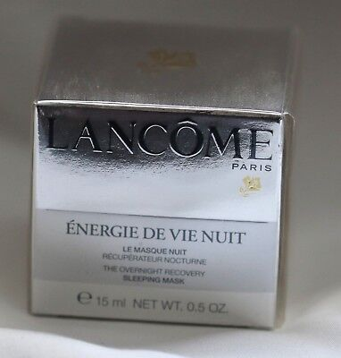 **REDUCED** LANCOME ENERGIE DE VIE NUIT BRAND NEW SEALED IN BOX 15mls