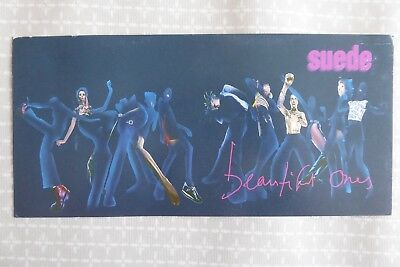 Suede, The Beautiful Ones, large promotional postcard, 1996