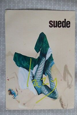Suede, Lazy (from Coming Up), large promotional postcard, 1997