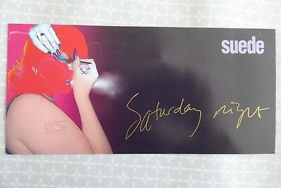 Suede, Saturday Night, (from Coming Up), large promotional postcard, 1997
