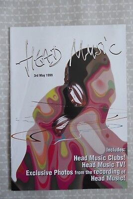 Suede, Head Music, large promotional booklet / magazine, 1999