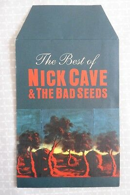 Nick Cave & The Bad Seeds - the Best Of, promotional leaflet and family tree