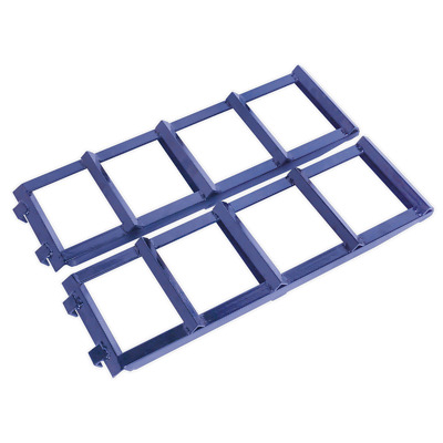 CAR2001 Sealey Car Ramp Extensions 400kg Each/800kg per Pair