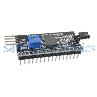 2/5/10PCS I2C IIC SP​​I TWI Serial Interface Board Module 1602LCD For Arduino