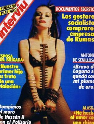 INTERVIU 546 / ALASKA 5 Pages Great Pictorial !!! MARGAUX HEMINGWAY Complete!!!