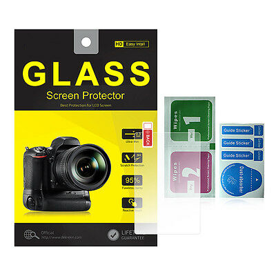 Tempered Glass Screen Protector w/ Top LCD for Sony Alpha A99 II DSLR ILCA-99M2