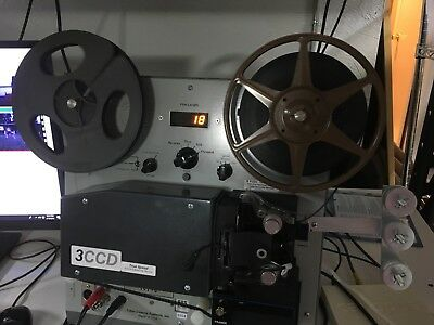 Tobin Super8 3CCD Sound Film Transfer_S8S True Speed Technology