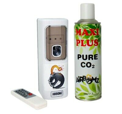 Dispensador / Generador de CO2 natural para el cultivo AirBomz CO2 + Pure CO2