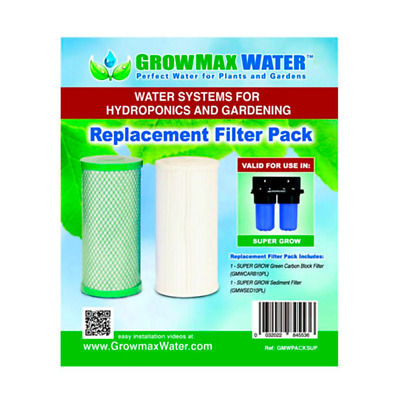 Pack de Filtros de recambio GrowMax Water Super Grow (800 L/h)