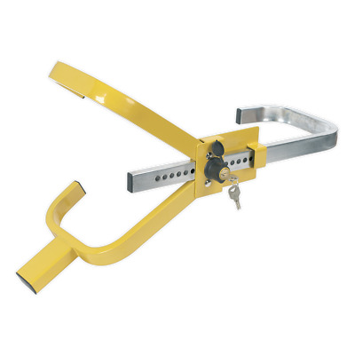 PB396 Sealey Tools Wheel Clamp [Vehicle Clamps & Barriers] Wheel Clamps