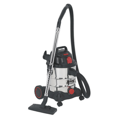PC200SDAUTO Sealey Vacuum Cleaner Industrial 20ltr 1400W/230V Auto Start