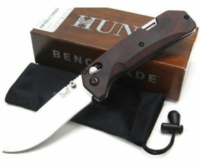 * NEW Benchmade 15060-2 Grizzly Creek Folding Blade Hunting Knife CPM-S30V Axis