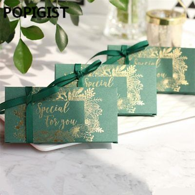 POPIGIST® 100PC/Lot Creative Special Forest Theme Wedding Favors Candy Box