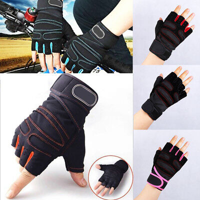 Weight Fitness Wrist Wrap Gym Gloves Workout Training Sports Exercise Antiskid