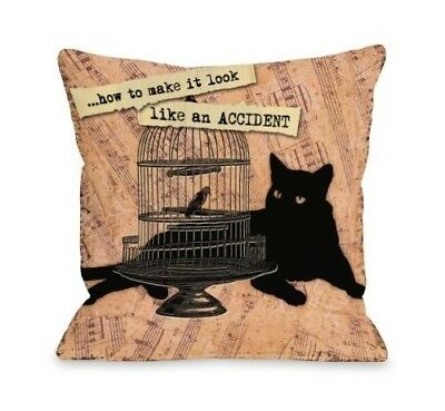 (70cm  by 70cm ) - Bentin Pet Decor Look Like an Accident Throw Pillow