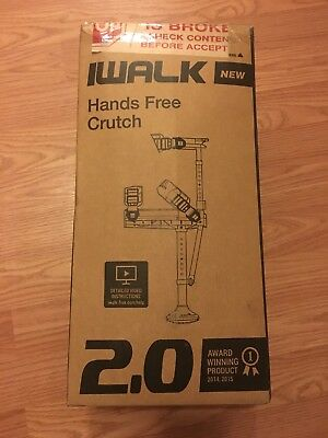 iWalk 2.0 Hands Free Knee Crutch READY TO SHIP!