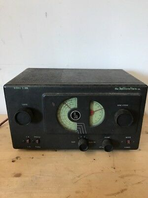 Hallicrafters Receiver Model S-38A