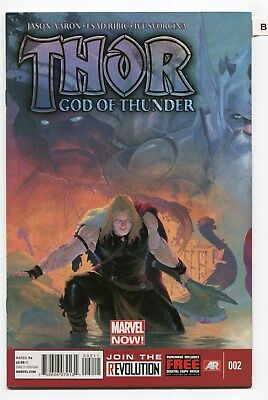 Thor God of Thunder # 2   1st App. Gorr and Necrosword SEE ACTUAL SCANS  ( B )
