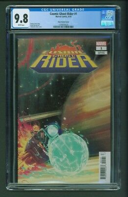 Cosmic Ghost Rider #1 CGC 9.8 Stephanie Hans Variant Cover 1:25 Incentive