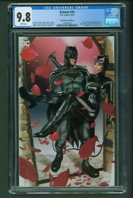Batman #50 CGC 9.8 ComicXposure Edition B Greg Horn Variant Cover Catwoman