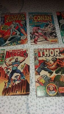 marvel comics misc - great wonderful USED and in good condition.