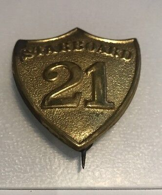 Starboard 21 Pin Badge