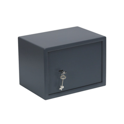 SKS01 Sealey Key Lock Security Safe 350 x 250 x 250mm [Safes & Security] Safes
