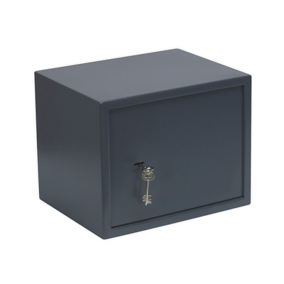 SKS02 Sealey Key Lock Security Safe 380 x 300 x 300mm [Safes & Security] Safes