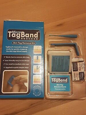 Deluxe Micro Tagband Skin Tag Remover Kit With Extra Bands