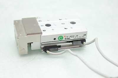 SMC 13-MXS8-20 Pneumatic Guided Air Cylinder 8mm Bore x 20mm Stroke