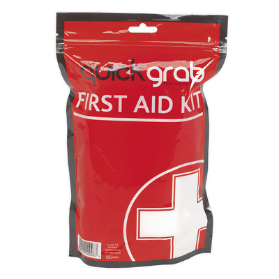 SFA03 Sealey First Aid Grab Bag [First Aid] First Aid Kits Safety Products