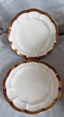 Crescent China Plates George Jones & Sons