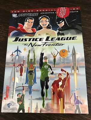 Justice League The New Frontier Two Disc Special Edition DVD Free Shipping A9