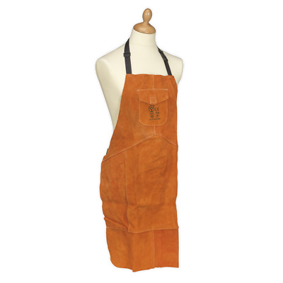 SSP146 Sealey Leather Welding Apron Heavy-Duty [Body Protection]
