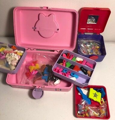 Vintage Barbie Caboodles & Accessory Lot Shoes Boots Random #125
