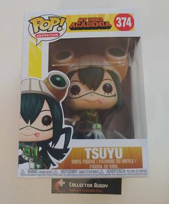 Funko Pop! Animation 374 My Hero Academia Tsuyu Pop Vinyl Figure FU32134
