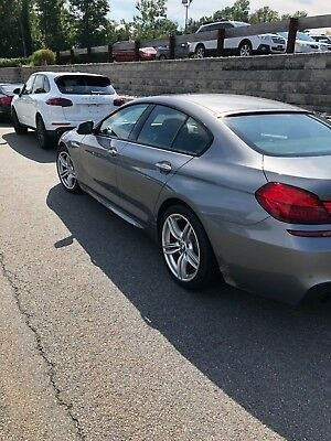 2014 BMW 6-Series gran coupe with M package 2014 BMW 640i xdrive gran coupe
