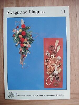 NAFAS Flower Arrangers Instruction Card No.11 Swags and Plaques