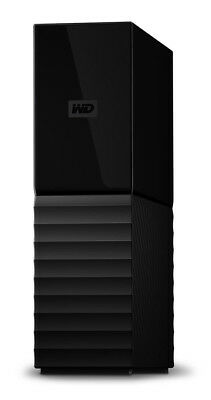 NEW Western Digital My Book 4TB Desktop Hard Drive and Backup System - Black