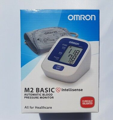 BRAND NEW OMRON M2 BASIC Intellisense AUTOMATIC BLOOD PRESSURE MONITOR Upper Arm