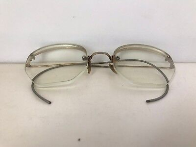 Excellent Vintage Gold Filled Wireless Eyeglasses