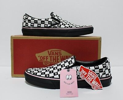 694b0415caa9 Vans X Lazy Oaf Classic Slip On Checkerboard Women s Size 8.5 (EUR 39) (
