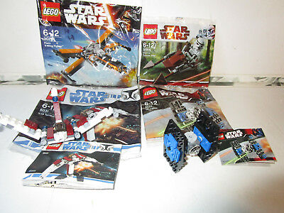Lego Star Wars Mini X Wing Fighter And Tie 4484 Instruction Book