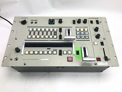 SONY SEG-2000 SPECIAL Effects Generator / Switcher for Broadcast Tv